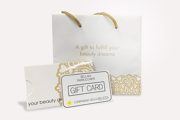 Bellani Parrucchieri   regala la nostra gift card
